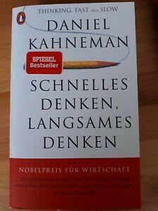 Schnelles Denken, langsames Denken von Daniel Kahneman (2011, Taschenbuch)
