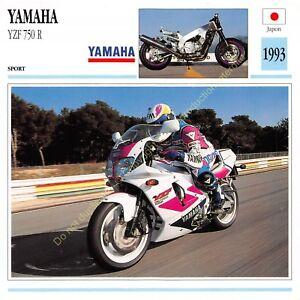 Stecker Foto Moto Japan Japan Yamaha YZF 750 R 1993 Ausgabe Edito Service