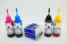 Refillable Ink Cartridge Kits for Epson WF2660 WF2650 WF2630 WF2010 16XL NON OEM