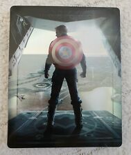 Captain America The Winter Soldier Return of the first  3D Blu Ray Steelbook