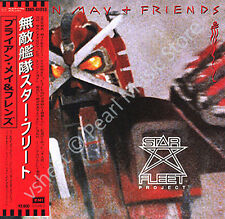 BRIAN MAY + FRIENDS STAR FLEET PROJECT CD MINI LP OBI Queen Smile Cozy Powell