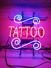 "New Tattoo Shop Bar Cub Party Light Lamp Decor Neon Sign 17""x14"""