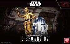 Bandai Star Wars 1/12 Scale C-3PO & R2-D2 The Last Jedi Model kit US Seller