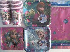 Frozen Disney Anniversaire Fête Supply Kit Paquet pour 16