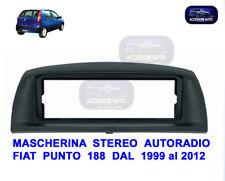 Mascherina Autoradio Fiat Punto Classic   Adattatore Cornice Stereo Radio