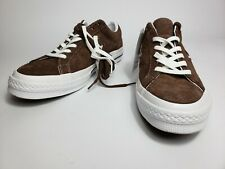 New!! Converse SuperStar One Star Classic OX SUEDE Brown [162573C] mens sz 11