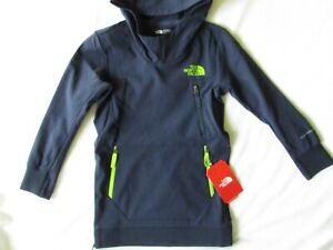 The North Face Boys size XS Navy FLASHDRY-XD Tekno Hoodie NWT $85