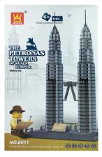 The Petronas Towers Of Kuala Lumpur Malaysia Building Blocks Bricks - Wange