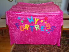"""""""My Fort"""" A child's 'up-in-a-hurry' indoor  play tent/fort!"""