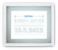 Personalised Childrens Babies Name Picture Print Boys Girls SMALL