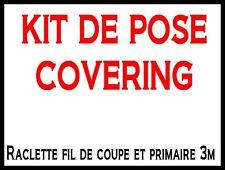 KIT DE POSE FILM CARBONE : PRIMAIRE 3M 100 ML ; FIL DE COUPE 10 Mètres COLISSIMO