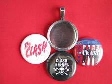"""multi-color Pendant 18"""" Necklace The Clash Handmade changeable Magnetic"""