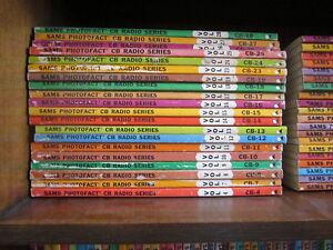 Sams Photofact CB Radio Series Service Manuals Between Volumes  29 and 200 #0319