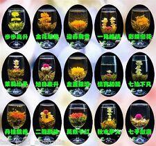 Organic Blooming Flower Tea 16 Style Balls individual Sealed - 48 Balls(3 Bags)