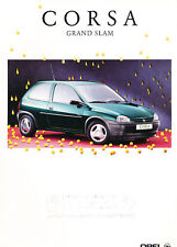1995 Opel Corsa Grand Slam German Sales Brochure