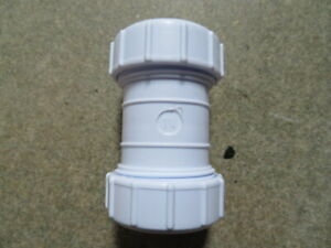 """32mm (1 1/4"""") Compression waste pipe fitting."""