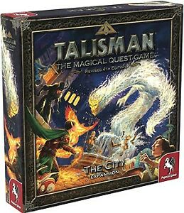 Talisman Board Game 4th Edition: The City Expansion