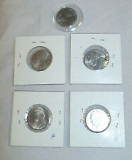 Lot of 5  - 2004 P & D Jefferson Peace Medal Nickel - 5 cents