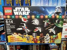 NEW Lego 7958 Star Wars Advent Calendar 2011 edition Factory Sealed Santa Yoda
