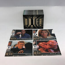 The Outer Limits: Sex, Cyborgs & Science-Fiction (2003) Complete 81-Card Set