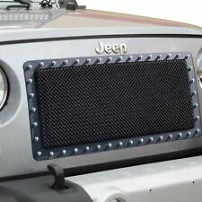 Paramount 46-0731 Black Evolution Mesh Grille Insert 2007-2016 Jeep Wrangler JK