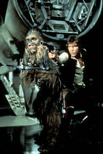 1977 Star Wars - A new Hope - Press Slide transparency - Han Solo & Chewie