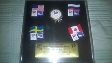NEW YORK RANGERS LIMITED EDITION NEW/SEALED 1998 WINTER OLYMPIC GAMES PIN SET