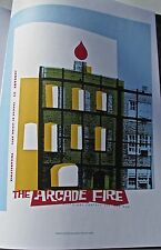 Arcade Fire Poster Reprint for Philadelphia PA 2005 Concert No 1 14x10