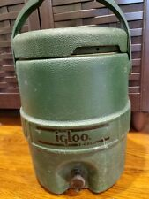 Igloo 2 gallon Green  Water cooler Made in U.S.A. Houston
