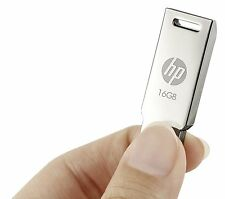 HP 16 GB Pen Drive V232W Steel