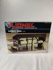 Lionel 6-12705 Lumber Shed Building Kit O/027 Gauge NIB
