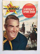 STAR CINE AVENTURES N°77 .... NOVEMBRE 1961 / LA MISSION DU CAPITAINE BENSON