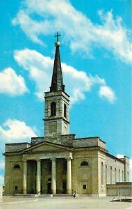 Basilica St Louis King of France Missouri Mo 3rd Walnut Postcard