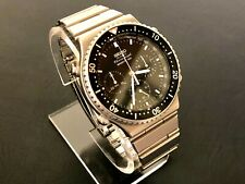 Oct 1983 Vintage Seiko 7a28-7049 Quartz Chronograph Extremely Clean