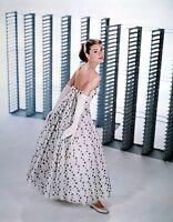 Audrey Hepburn Portrait Canvas Wall Art Movie Poster Print Fashion Model Icon
