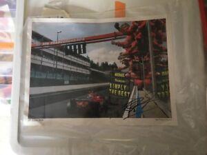 Ferrari 2004 GP Belgium MS Signed