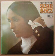 LP Joan Baez – The Best Of Joan Baez Uk 1968 Saga Eros Ex Folk Blues Country