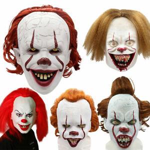 Halloween Joker Masque Collection Horreur Clown Prank Cosplay Costume Props...