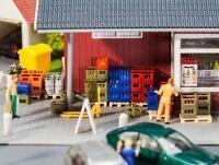 Faller H0 180353 Getränkehandel-Inneneinrichtung, Miniaturwelten Bausatz 1:87