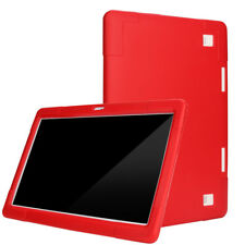 Universal Tablet Hülle Für 10/10.1 Zoll Android Tablet PC Silikon Tasche Rot DE