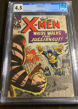 X-Men #13 CGC 4.5 OFF-WHITE PAGES 2nd App JUGGERNAUT S5-111