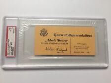 2001 President George W. Bush Electoral Vote Count Ticket PSA Bush vs Gore Pass