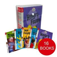 Biff, Chip and Kipper Stage 3 Read with Oxford 5+ 16 Books Collection Set Pack
