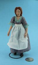 1/12 Scale Dollhouse Miniature Porcelain Maid/Cook/Nanny Doll #S5943