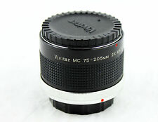 VIVITAR MC 75-205mm 2X Matched Multiplier. For Canon C/FD (Case Included)