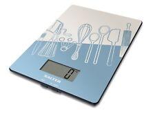Salter Glass Digital Electronic Utensils 5kg Kitchen Scales Blue 1102BLDR