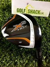Callaway X2 Hot Pro Tour Issue TC 3 Wood 15* with RIP Phenom X Flex Shaft (1970)