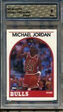 1989-90 Hoops #200 Michael Jordan CTA Mint 9 basketball card graded