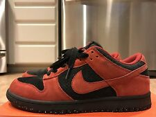 Nike Dunk Low CL red black true east size 8.5