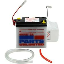 Parts Unlimited - 6N4B-2A-FP - 6V Conventional Battery Kit Suzuki GN 400 X,TS 25